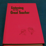 Listening to the great teacher by watchtower  1971 hardback book @sold@